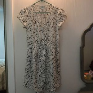 UO Kimchi Blue Casual Lightweight Pattern Dress